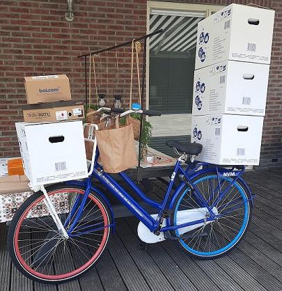 Steenhuis Makelaars   fiets