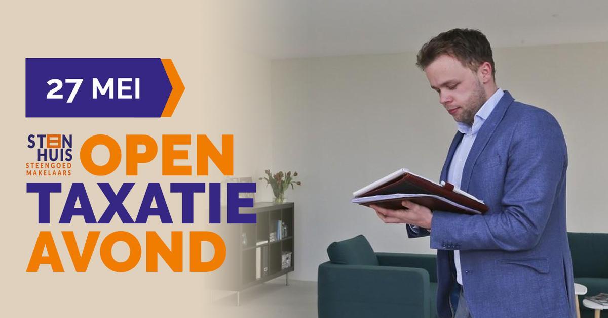 Open Taxatie Avond maandag 27 mei